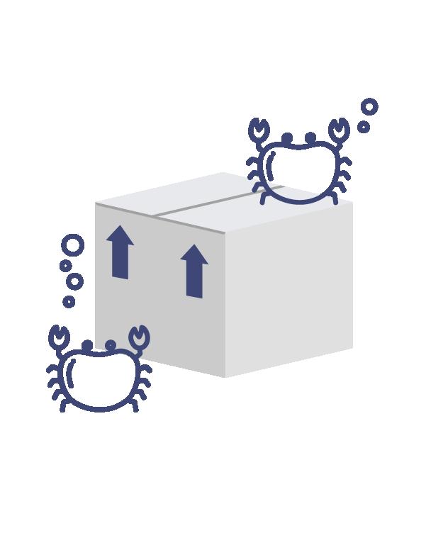 Plastic Seafood Box